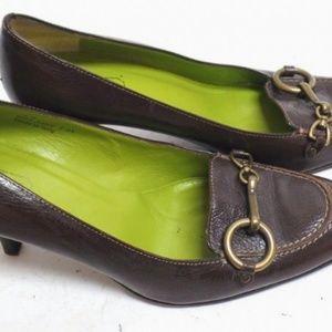 👠 COACH Aubrey Heels P554 Brown 9B women's Shoes